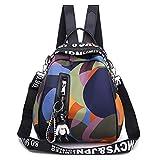 Yuan Ou Mochila Mujer Mochila multifunción para mujer, mochila Oxford impermeable para mujer, mochila antirrobo, mochila escolar para multicolor