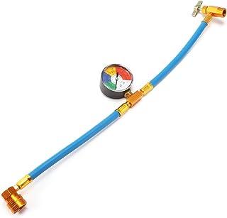 Fydun Set di misuratori diagnostici CA Set di strumenti per il condizionamento dellaria del refrigerante con kit tubo e gancio