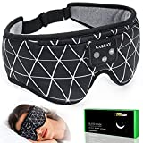 Sleep Headphones, Kabray Sleeping Headphones Soft Comfortable Bluetooth Sleep Mask with Ultra Thin Speakers, Cool Gadgets Gift for Women Men Valentine's Father's Mother's Day Birthday Christmas
