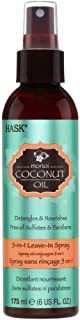 Hask Hair coconut oil 5 in Leave in spray 6 floz, pack of 1