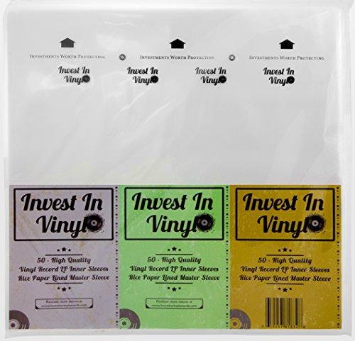 top 10 inner record sleeves 50 Master Cover Rice Paper Antistatic LP Inner Sleeve Mobile Fidelity Vinyl MFSL Style…