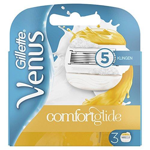 Gillette Venus ComfortGlide Rasierklingen Für Frauen, 3er-Pack