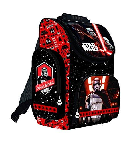Star Wars Schulranzen Jungen 1 Klasse | Tornister Schulrucksack Schultasche | Set 3 teilig | für Grundschule | super leicht | inkl. Stifteetui, Regenschutz von SCOOLSTAR