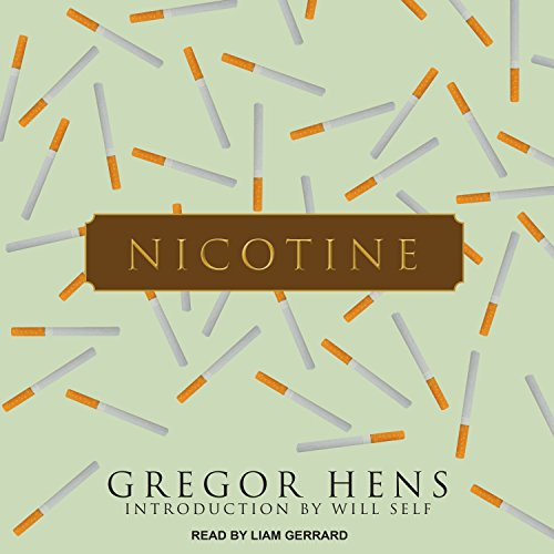 Nicotine audiobook cover art