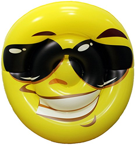 Funny Pool Floats for Adults - Enjoy The Pool in Style with These Pool Inflatables for Adults - Smiley Face Pool Floatie