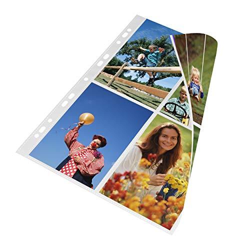 mashpaper Fotohüllen weiß 100 Stück 10x15 cm Hochformat 75624