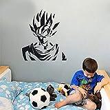 Tianpengyuanshuai Goku Anime Cartoon Dragon Ball Etiqueta de la Pared calcomanía de Vinilo Dormitorio de los niños decoración del hogar Papel Pintado 42X48cm