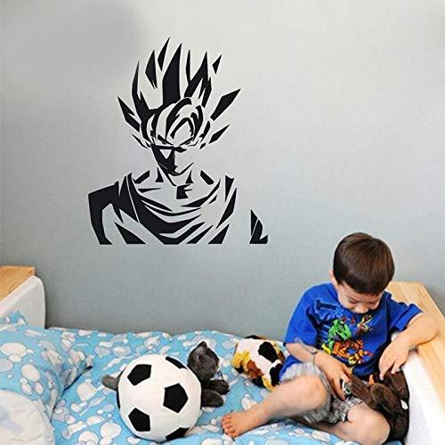 Tianpengyuanshuai Goku Anime Cartoon Drakenbal muursticker vinyl sticker kinderkamer huis decoratie behang