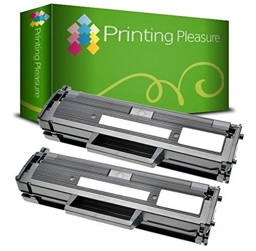 Twin-Pack 593-BBLH Black Compatible Toner Cartridges for use in Dell E310dw, E514dw, E515dw, E515dn