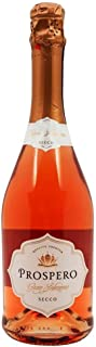 Prospero Vino Rosado Seco (metodo charmat) - 6 Paquetes de 750 ml - Total: 4500 ml