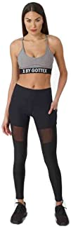X by Gottex Women's Back Mesh Insert Legging