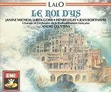 LALO, Edouard: Le Roi d'Ys (Opera) -- Andrré Cluytens (cond), Chorus and Orchestra de la Radio Francaise, Micheau, Gorr, Legay -- EMI (1957 Mono) ----Vinyl LP-EMI-LALO Edouard (Francia)-CLUYTENS André (dir); GORR Rita (mezzo-soprano); LEGAY Henri (tenore) : Philharmonia Orchestra