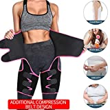 TINGTING Cinturón de Fitness Ajustable para Mujer...