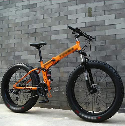 Plegable motos de nieve, bicicletas de montaña con neumáticos extra-grandes, unisex Bicicletas todo terreno bicicletas, bicicletas de adulto Cambio de marchas de montaña bicicletas de carreras Bike To