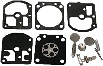 Farmertec Carburetor Repair Gasket Kit for Echo 280E 280EVLP 290E 290EVLP CS-280E CS-280EP Chainsaw Zama C1S-K1 -K1A -K1B -K1C Carb Rebuild Diaphragm Kit ZAMA RB-6