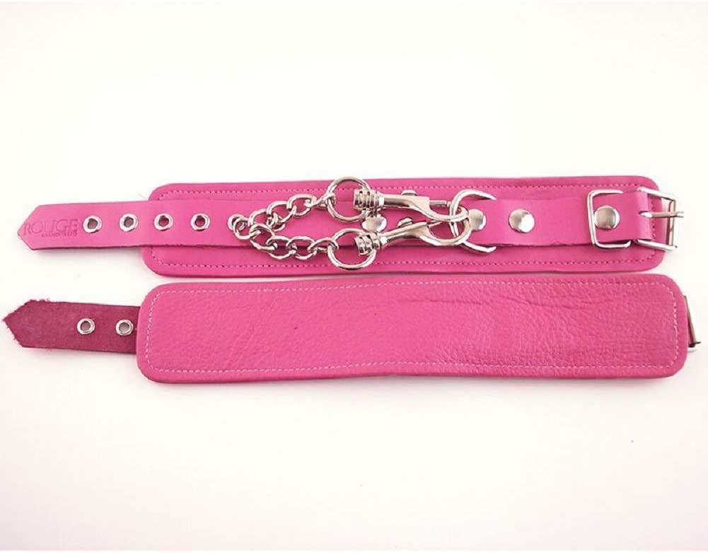 Rouge Wrist Cuffs Pink Louisville-Jefferson County Mall with Free Adult Toy Superior of Cleaner Bottle
