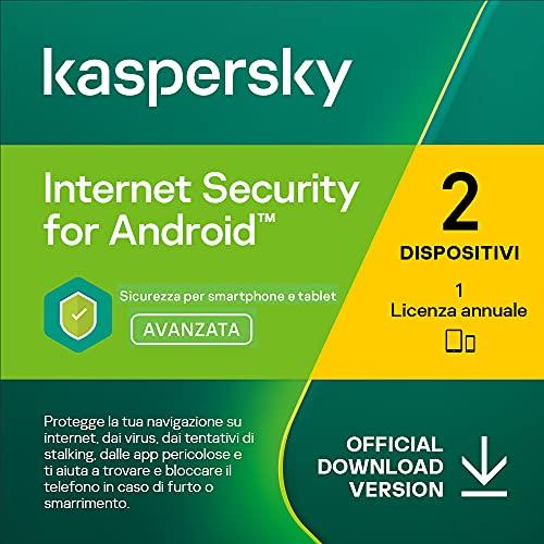 Kaspersky Internet Security for Android   Premium   2 Dispositivi   1 Anno   Codice d'attivazione via email