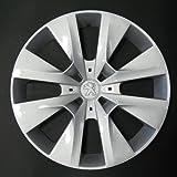 Wheeltrims Set de 4 embellecedores nuevos para Peugeot 208 2012 con Llantas Originales de 15''