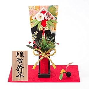 (ファンファン) FUN fun お祝い 初正月 羽子板 はごいた 正月飾り 迎春飾り はねつき羽子板飾り 謹賀新年 間口21*奥行15*高さ19.5(約cm)