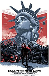 PhotoSight Escape from New York 1981 Movie Snake Plissken 32x24 Print Poster