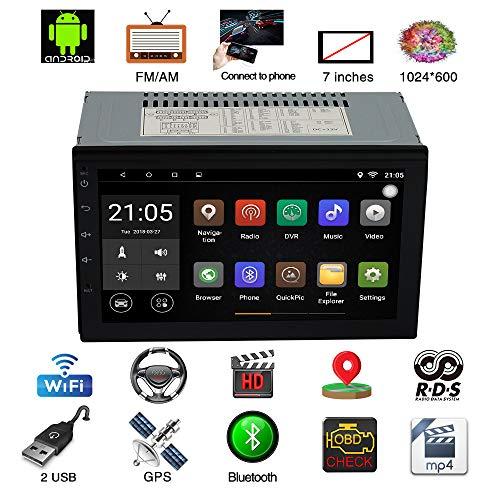 Voiture MP5 Player Universal Multifonctionnel 7 Pouces HD Écran Voiture GPS Navigation Voiture Audio Vidéo, Lecteur Vidéo De Voiture, Peut Également Être Utilisé Comme Inverseur Vidéo Radar