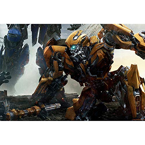 puzzles Optimus Prime Transformers Niños 1000 Piezas Juguetes Educativos De Madera De Descompresión para Adultos(Color:re)