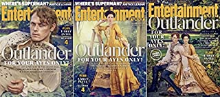 Entertainment Weekly Magazine (November 17, 2017) Outlander - All 3 Covers