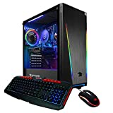 iBUYPOWER Gaming PC Computer Desktop 131A (AMD Ryzen 5 1600 3.2 GHz, AMD RX 550 2GB, 8GB DDR4 RAM, 240GB SSD, WiFi Ready, Windows 10 Home)