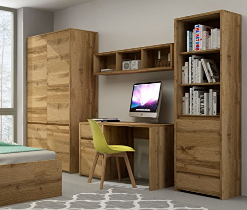 QMM Traum Moebel Jugendzimmer Kinderzimmer komplett Forest Set A Schrank Standregal Schreibtisch Wandregal neu