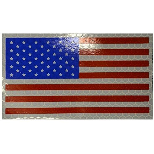 Tactical GEAR Junkie reflectante Full Color bandera de Estados Unidos, Forward Facing 2 x 3,5/La Moral Militar: Amazon.es: Hogar