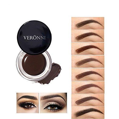VERONNI Eyebrow Cream ,Brow Color Long Lasting Waterproof Eyebrow Pomade Gel ,Eyebrows Enhancers Soft and Smooth Brow Makeup 0.75oz (#07 Taupe)