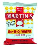 MARTIN'S BAR-B-QUE WAFFLE POTATO CHIPS - Try our classic cooked potato chips today! You Will Receive a 30 Count Case of 1 Ounce Individual Bags GUARANTEED FRESH - Our chips are guaranteed fresh until the printed day. Shipped factory fresh each day! N...