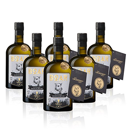 Boar Blackforest Premium Dry Gin - 8