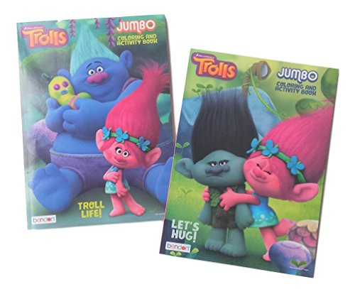 Product Image of the DreamWorks Trolls 2Pack Coloring Book Set: The Trolls Movie (Assorted Titles)