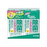 エリエール 除菌できるノンアルコールタオル つめかえ用 80枚×2コパック