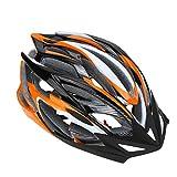 Casco Bicicleta Yuan Ou 25 respiraderos Casco de Ciclismo Ultraligero EPS Moldeado integralmente Deportes al Aire Libre MTB/Carretera Bicicleta de montaña Bicicleta Casco de Patinaje Naranja