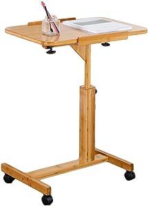 XUE Scrittoio Pratico Comodino Pigro Comodino Tavolo Portatile Tavolo da scrivania Semplice scrivania Stopper Posto di Lavoro per Computer Computer Dormitorio Home Office