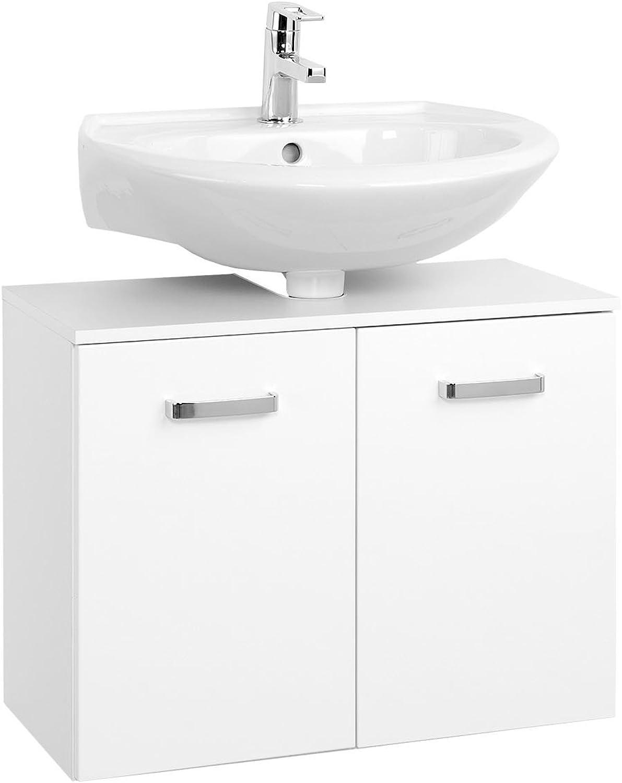 Waschbeckenunterschrank Unterbeckenschrank Badmbel Bad Badezimmer  Bologna III  (70 cm)