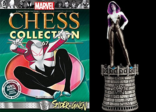 Eaglemoss Marvel Chess Figurine Collection Nº 67 Spider Gwen