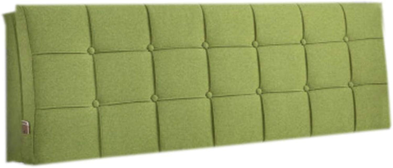 JYW-kaodian Coussin de Lecture Oreiller Polochon Wedge PilFaible Housses étui Souple Amovible et Lavable Non déformé, 4 Couleurs 8 Tailles,vert,A12058  10cm