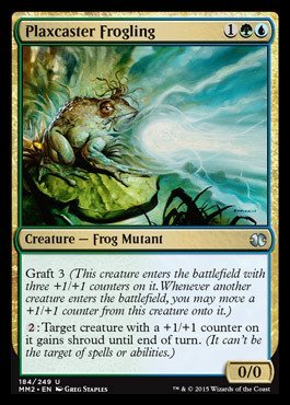 Magic: the Gathering - Plaxcaster Frogling (184/249) - Modern Masters 2015 by Magic: the Gathering