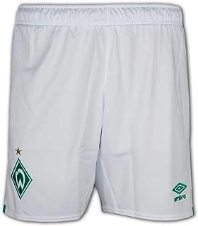 UMBRO SV Werder Bremen Short Home 2019/2020 Herren weiß/grün, XXL