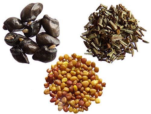 Tus favoritos 2013. 3 bolsitas: 1 bolsita de gran consuelda, 30 semillas + 1 bolsita de tanaceto 1000 semillas + 1 bolsita de trébol blanco enano de 1 gramo