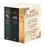 Trilogía Los pilares de la Tierra (pack con Los pilares de la Tierra   Un mundo sin fin   Una columna de fuego) (Best Seller)