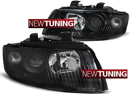 Faros delantero para Audi, color negro