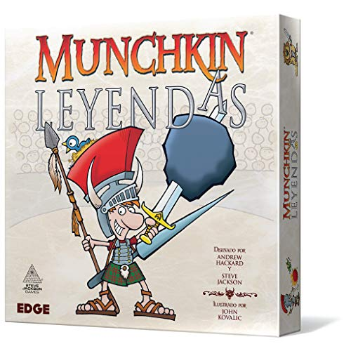Edge Entertainment Munchkin Leyendas-Español, Color (EESJML01)