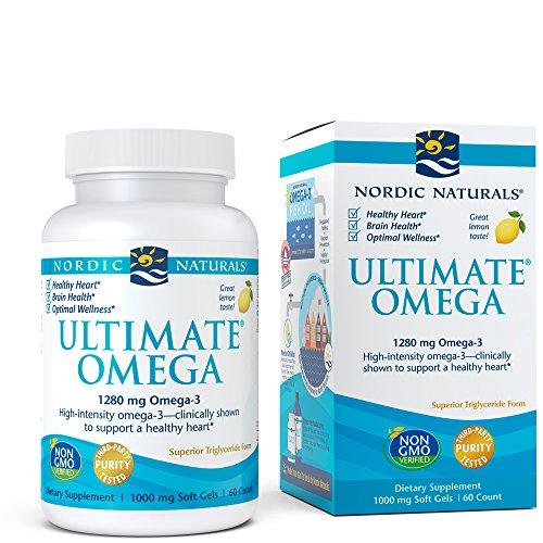 Nordic Naturals Ultimate Omega 60 Cápsulas Blandas, Limón 120 g