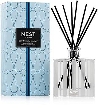 NEST Fragrances Reed Diffuser- Ocean Mist & Sea Salt  5.9 fl oz