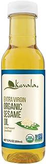 Organic Extra VIrgin Sesame Oil 12oz (BPA-free plastic bottle)