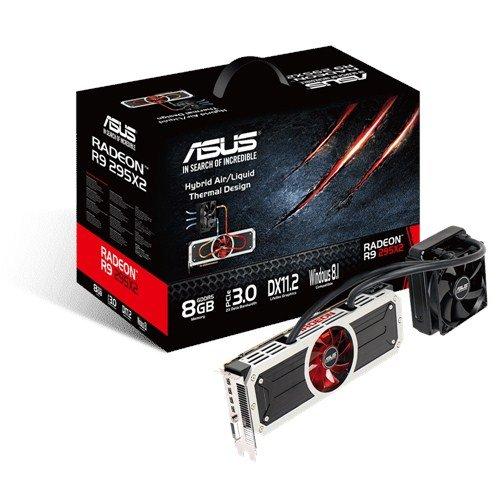 ASUS R9295X2-8GD5 Grafikkarte (Radeon R9 295X2, 2x 4GB GDDR5, DVI, 4x Mini DisplayPort)